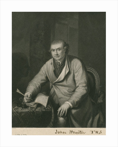 Portrait of John Hunter (1728-1793) by H Cook