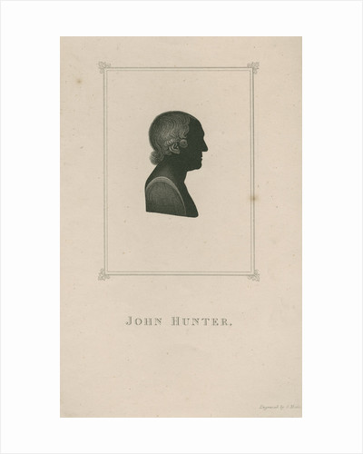 Portrait of John Hunter (1728-1793) by Georges Maile
