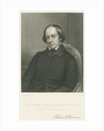 Portrait of Sir Robert John Kane (1809-1809) by Samuel Freeman