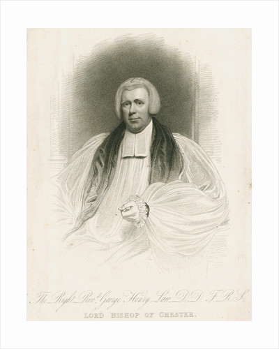 Portrait of George Henry Law (1761-1845) by unknown