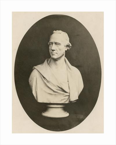 Portrait bust of William Martin Leake (1777-1860) by Antoine Jean Francois Claudet
