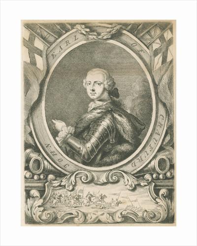 Portrait of John Lindsay, 20th Earl of Crawford (1720-1749) by Thomas Worlidge