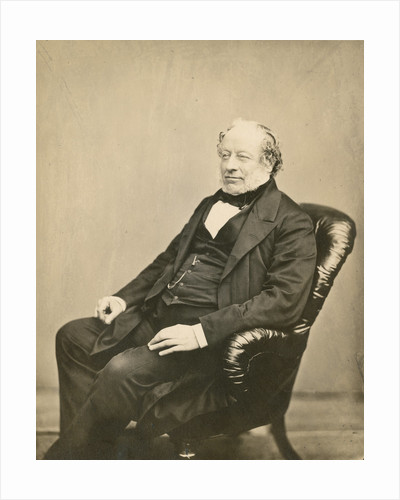 Portrait of Charles Barry (1795-1860) by John Watkins