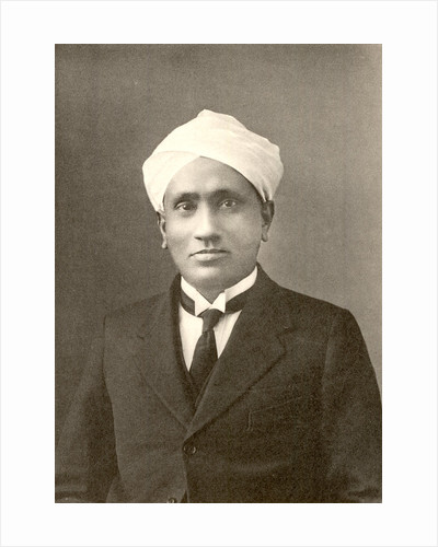 Portrait of Chandrasekhara Venkata Raman (1888-1970) by Anonymous