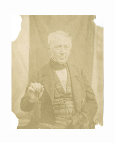 Portrait of Andrew Ure (1778-1857) by Hugh Welch Diamond
