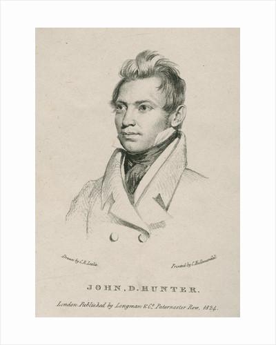 Portrait of John Dunn Hunter (1798-1827) by Charles Joseph Hullmandel