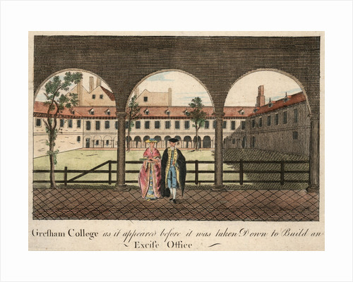 Gresham College by Anonymous