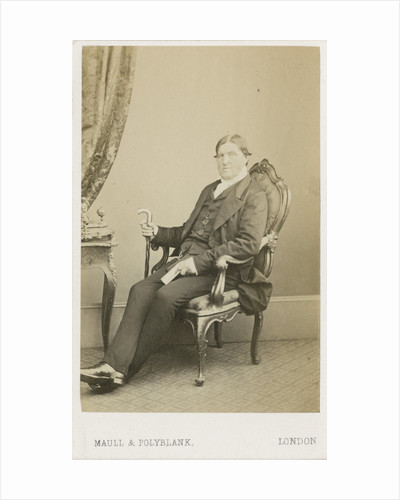 Portrait of Thomas Dyke Acland (1809-1898) by Maull & Polyblank