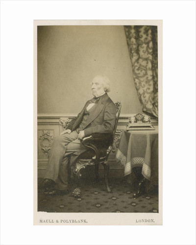 Portrait of James Apjohn (1796-1886) by Maull & Polyblank