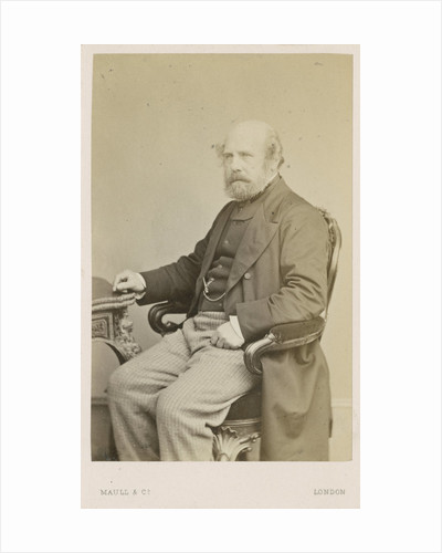 Portrait of Peter William Barlow (1809-1885) by Maull & Co
