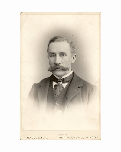 Portrait of James Thomson Bottomley (1845-1926) by Maull & Fox