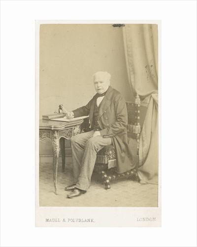 Portrait of William Thomas Brande (1788-1866) by Maull & Polyblank