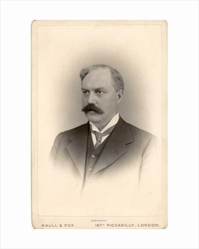 Portrait of Thomas Gregor Brodie (1866-1916) by Maull & Fox