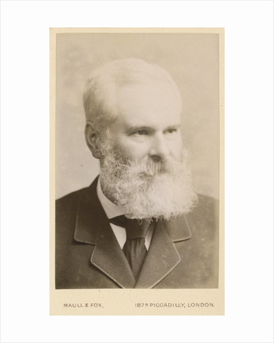 Portrait of Alexander Crum Brown (1838-1922) by Maull & Fox