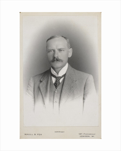 Portrait of Ernest William Brown (1866-1938) by Maull & Fox