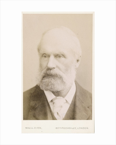Portrait of Samuel Hawkesley Burbury (1831-1911) by Maull & Fox