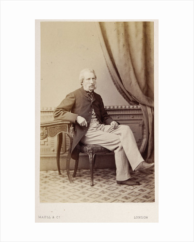 Portrait of Henry John Carter (1813-1895) by Maull & Co