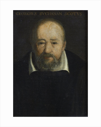 Portrait of George Buchanan (1506-1582) by Frans Pourbus