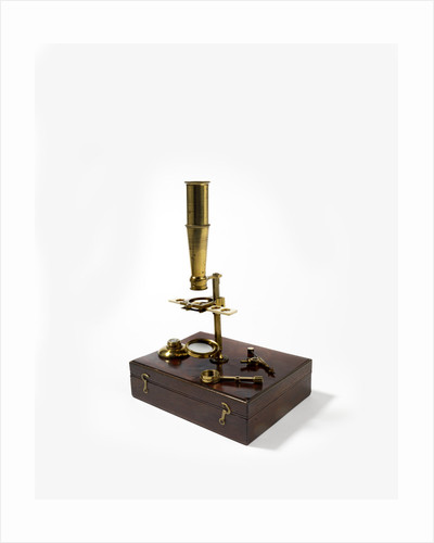 Compound microscope by William Cary
