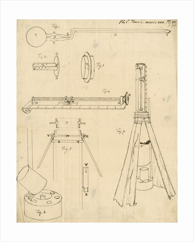 Thermometrical barometer by Francis John Hyde Wollaston