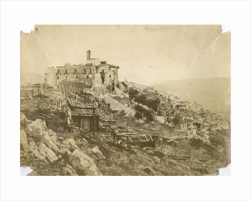 'Saponara...' [earthquake damage] by Alphonse Bernoud Grellier
