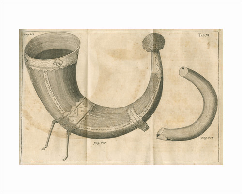 Ljungby horn and pipe by C Bergquist