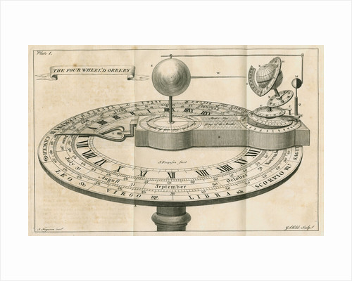 'The four wheel'd orrery' by G Child
