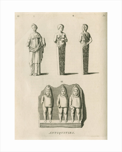 Stone antiquities found at Netherby by Anonymous