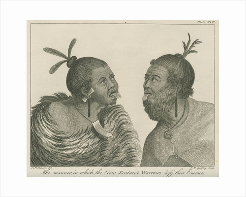 'The manner in which the New Zealand Warriors defy their Enemies' by Richard Bernard Godfrey