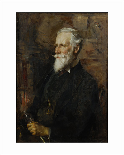 Portrait of Sir William Crookes (1832-1919) by Edward Arthur Walton