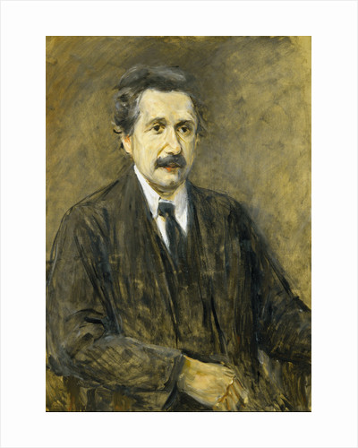 Portrait of Albert Einstein (1879-1955) by Max Liebermann