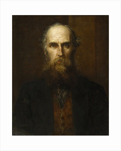 Portrait of William Spottiswoode (1825-1883) by George Frederick Watts