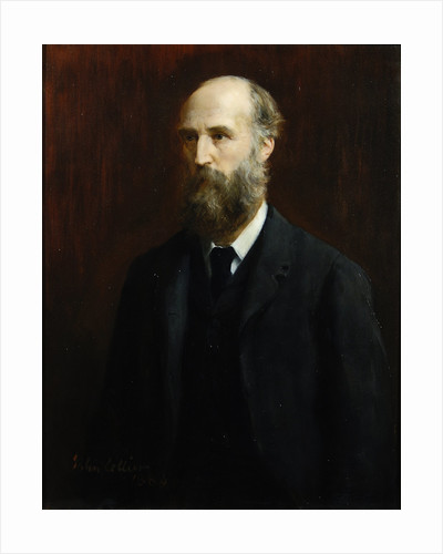 Portrait of William Spottiswoode (1825-1883) by John Collier
