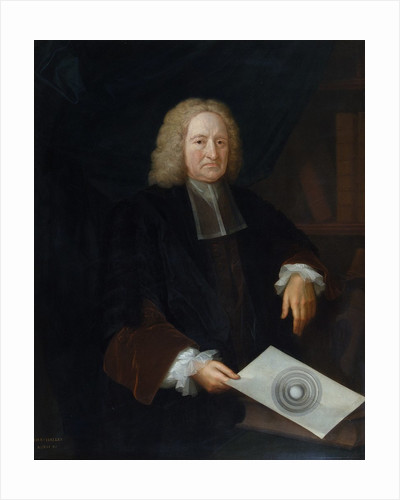 Portrait of Edmond Halley (1656-1742) by Michael Dahl