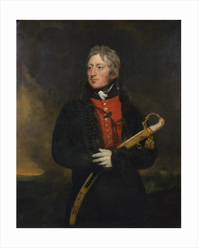 Portrait of George Manby (1765-1854) by Samuel Lane