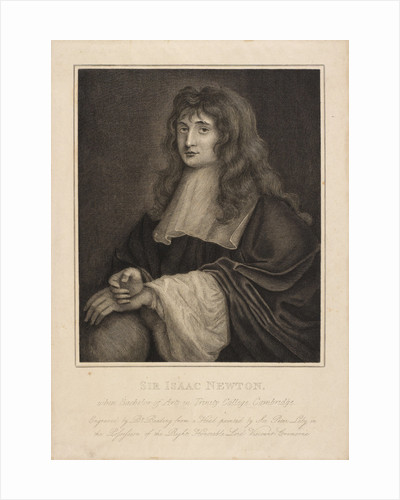 Portrait of Isaac Newton (1642-1727) by Burnet Reading