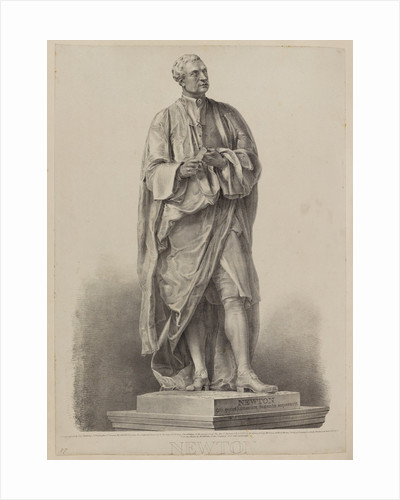 Statue of Sir Isaac Newton by George E Madeley