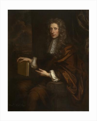 Portrait of Robert Boyle (1627-1691) by John Riley