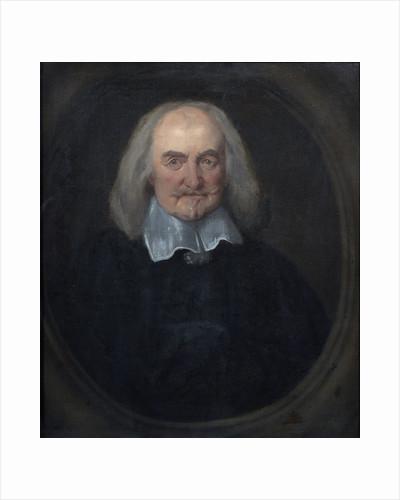 Portrait of Thomas Hobbes (1588-1679) by Jan Baptist Jaspers