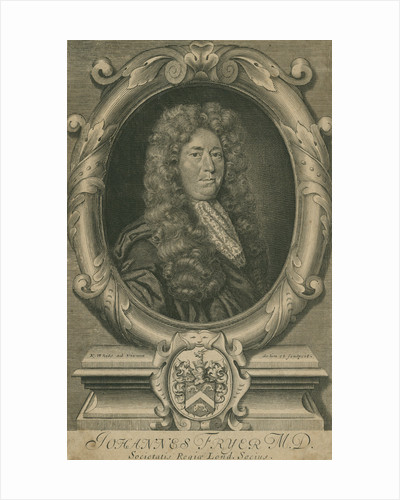 Portrait of John Fryer (1659-1733) by Robert White