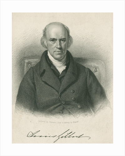 Portrait of Davies Gilbert (1767-1839) by James Thomson