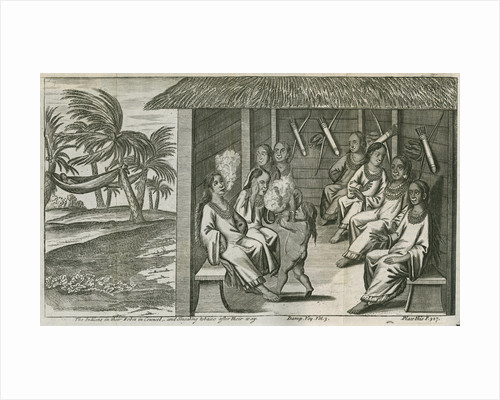 Tobacco smoking among the Cuna Indians of Panama, observed by Lionel Wafer by John Savage