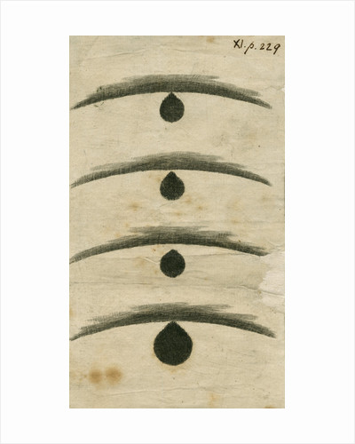 'Black drop' effect during the 1769 Transit of Venus by William Hirst