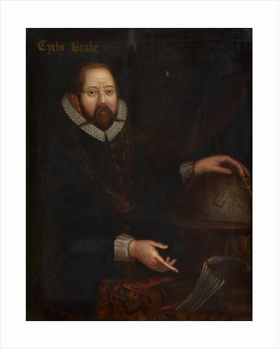 Portrait of Tycho Brahe (1546-1601) by unknown