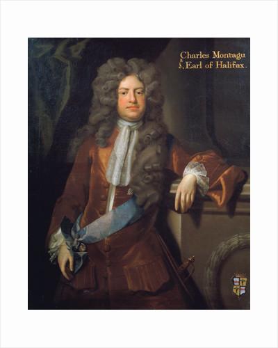 Portrait of Charles Montagu, 1st Earl of Halifax (1661-1715) by Michael Dahl