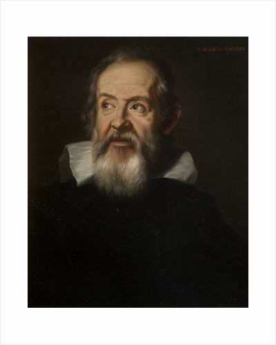 Portrait of Galileo Galilei (1564-1642) by unknown