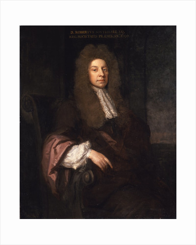 Portrait of Robert Southwell (1635-1702) by Godfrey Kneller