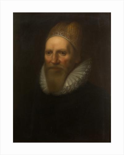 Portrait of Henry Spelman (1563-1641) by Studio of Cornelius Janssen van Ceulen