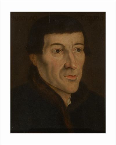 Portrait of Nicolaus Copernicus (1473-1543) by Friedrich Anton Lohrmann