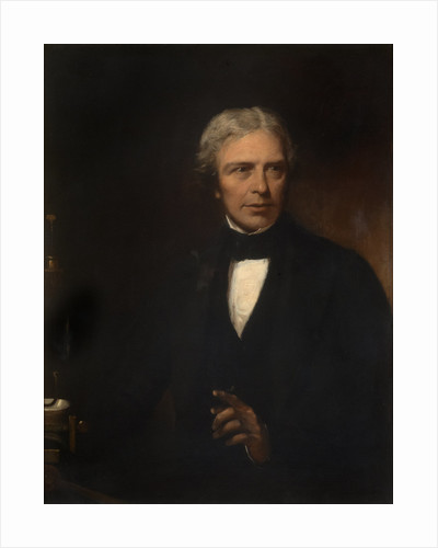 Portrait of Michael Faraday (1791-1867) by Alexander Blaikley